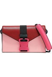 Christopher Kane Devine Color Block Leather Shoulder Bag Multicolor
