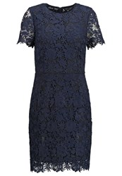 Warehouse Cocktail Dress Party Dress Navy Black Dark Blue