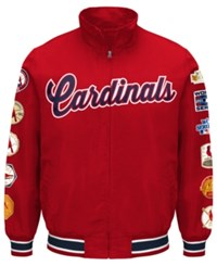 G3 Sports Men's St. Louis Cardinals Victory Comm Jacket Red