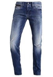Replay Newbill Straight Leg Jeans Destroyed Denim