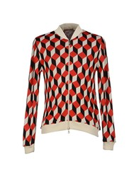 Relive Knitwear Cardigans Men Red