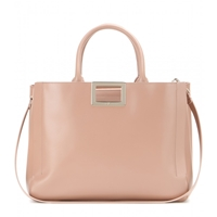 Roger Vivier Ines Shopping Medium Leather Tote