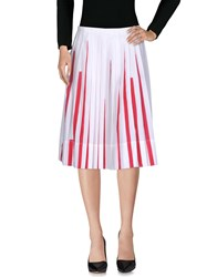 Io Ivana Omazic 3 4 Length Skirts White