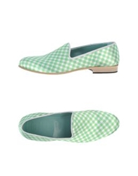 Never Ever Moccasins Light Green