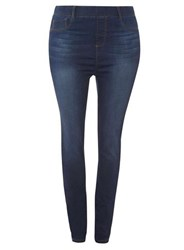 Dorothy Perkins Dp Curve Indigo Authentic High Waisted Jeggings Blue