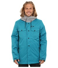 Oakley Division 2 Biozone Insulated Jacket Aurora Blue Men's Coat