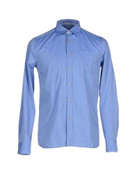 Seventy By Sergio Tegon Shirts Shirts Men Azure