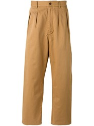Universal Works Double Pleat Trousers Nude Neutrals