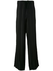 Ann Demeulemeester Grise Loose Fit Trousers Men Rayon Wool M Black