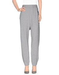 Love Moschino Trousers Casual Trousers Women Light Grey