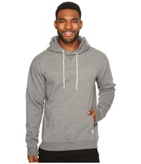 Dc Rebel Pullover Hoodie Charcoal Heather Men's Sweatshirt Gray
