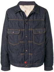 Visvim Padded Denim Jacket Blue