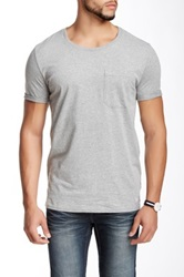 Shine Crew Neck Tee Gray