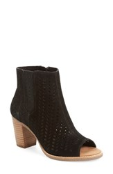 Toms Women's Majorca Perforated Suede Bootie