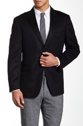 Tommy Hilfiger Ethan Two Button Notch Lapel Cashmere Sportcoat Black