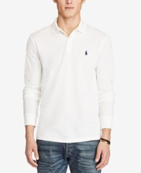 Polo Ralph Lauren Men's Custom Fit Stretch Mesh Pure White
