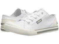 Rocket Dog Jazzin White 8A Canvas Women's Lace Up Casual Shoes