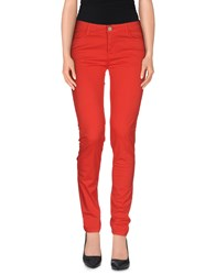 Ekle' Trousers Casual Trousers Women Red