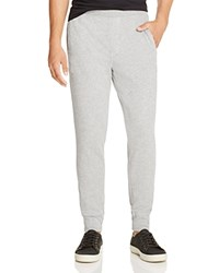 Atm Anthony Thomas Melillo Long Board French Terry Tapered Slim Fit Pants Heather Grey
