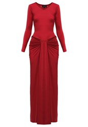 Coutureone Zoe Cocktail Dress Party Dress Rostrot Dark Red