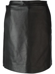 Givenchy Apron Front Shorts Black