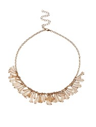 Jacques Vert Drop Crystal Necklace