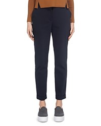 Whistles Sadie Slim Leg Pants Navy