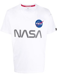 Alpha Industries Nasa Print T Shirt 60