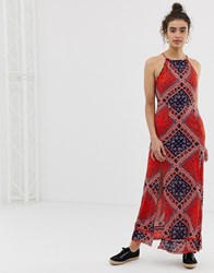 Superdry Paisley Maxi Dress Multi
