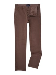 Criminal Stanley Slim Fit Chinos Brown