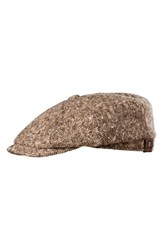 Men's Stetson 'Hatteras' Driving Cap Brown Chocolate