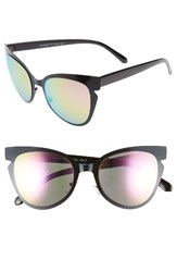 A. J. Morgan Women's A.J. Buns 53Mm Cat Eye Sunglasses