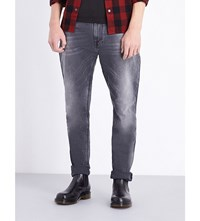 Nudie Jeans Brute Knut Grey Ring Regular Fit Straight Leg