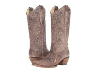 Corral Boots A1098 Brown Crater Bone Women's