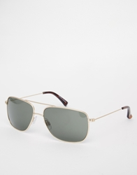 Peter Werth Aviator Sunglasses Gold