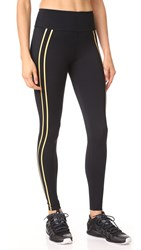 Splits59 Distance Leggings Black Marigold