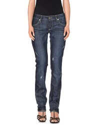 Met In Jeans Denim Denim Trousers Women Blue