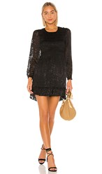 Parker Inez Dress In Black.