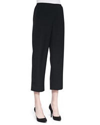 Caroline Rose Shantung Easy Capri Pants Women's