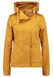 Ragwear Ewok Summer Jacket Yellow Mustard