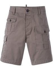 Dsquared2 Classic Cargo Shorts Grey