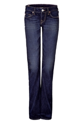 True Religion Straight Leg Blue Jeans