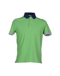 Heritage Topwear Polo Shirts Men Green
