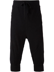 Thom Krom Cropped Track Pants Black