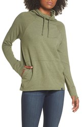The North Face Funnel Neck Sweatshirt Four Leaf Clover Heather