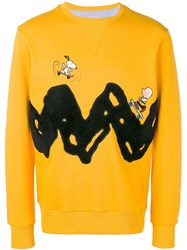 Lc23 Skate Sweatshirt Yellow