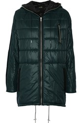Maje Gissi Quilted Shell Coat Blue