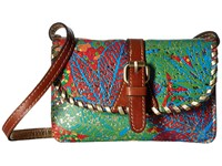 Patricia Nash Torri Crossbody Tropicana Summer Festival Cross Body Handbags Multi
