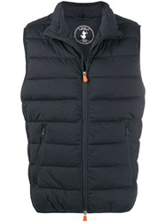 Save The Duck Mangy9 Padded Gilet Blue