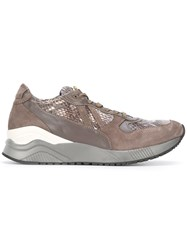 Cesare Paciotti 4Us Python Effect Sneakers Grey